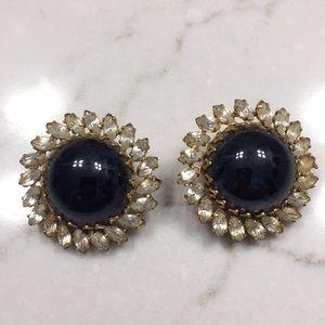 Vintage Hattie Carnegie clip on earrings